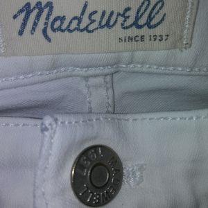 Madewell High Riser skinny